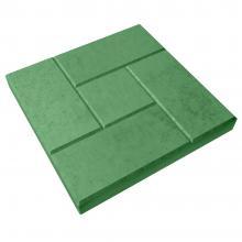 Зелёная тротуарная плитка